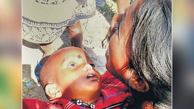 Emotional story related to child and mother in Jharkhand KPA