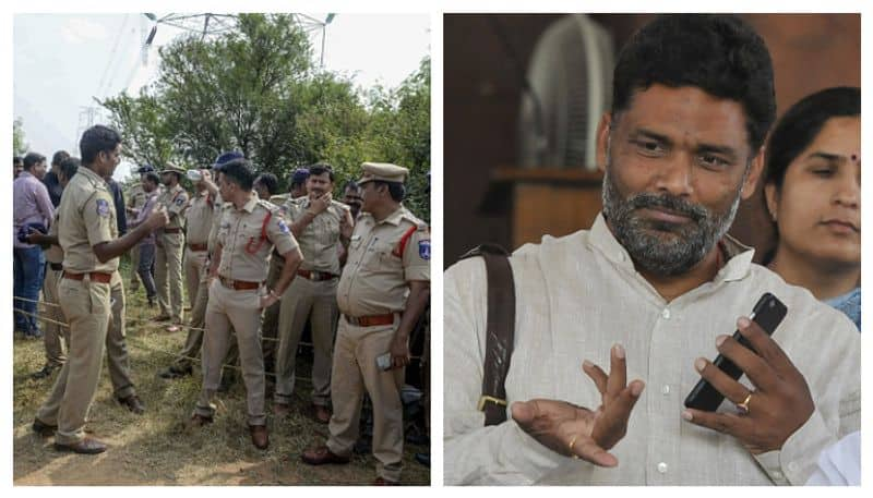 Pappu Yadav announces cash prize for policemen involved in Hyderabad encounter