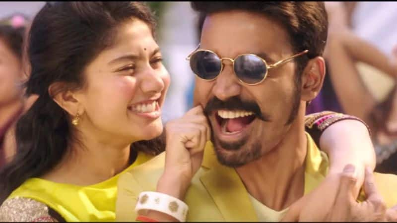 Indian song Rowdy Baby featuring Dhanush-Sai Pallavi among YouTube's top 10 most viewed videos globally (Video)