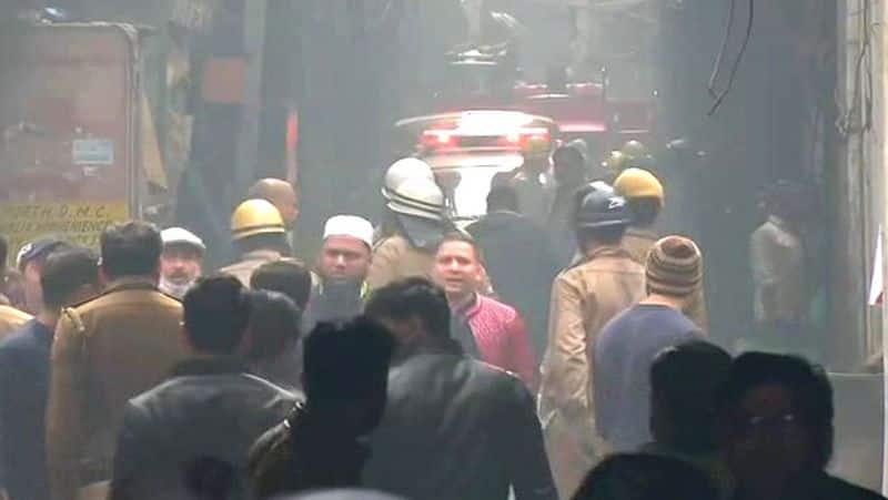 Delhi: 32 people killed after fire breaks out in factory