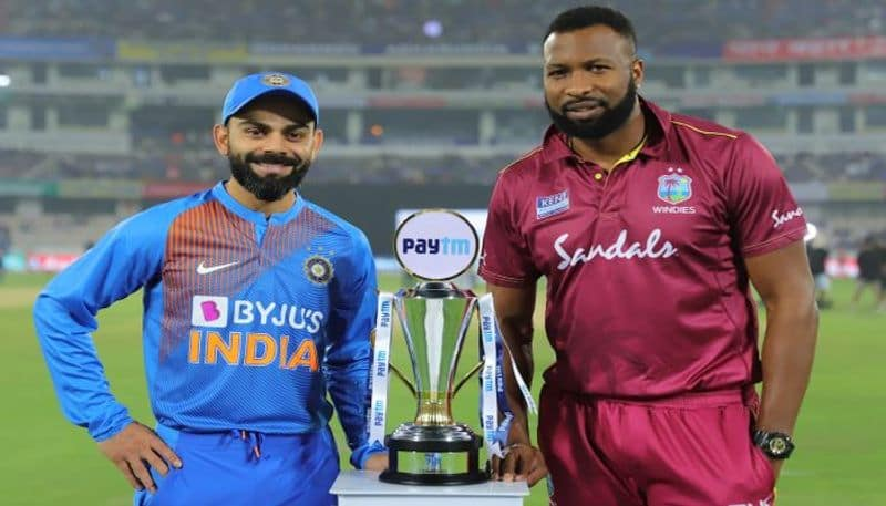 West Indies win the toss in the second T20 match and elects to field first