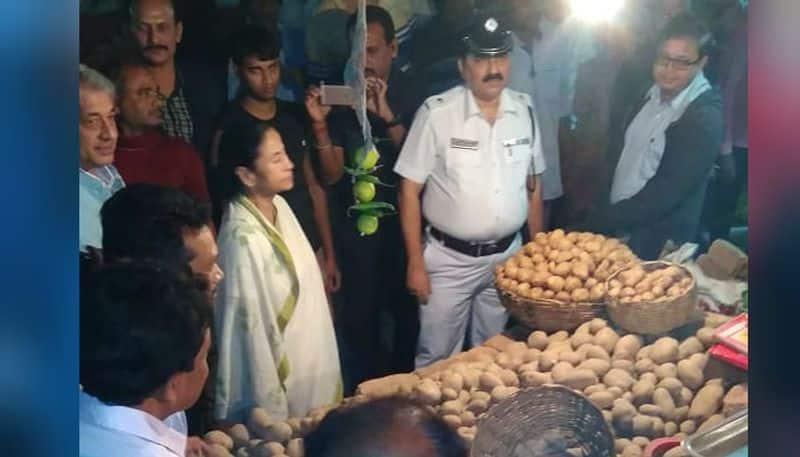 CM Mamata Banerjee attacks Modi Government over price hike of Onion in the state.