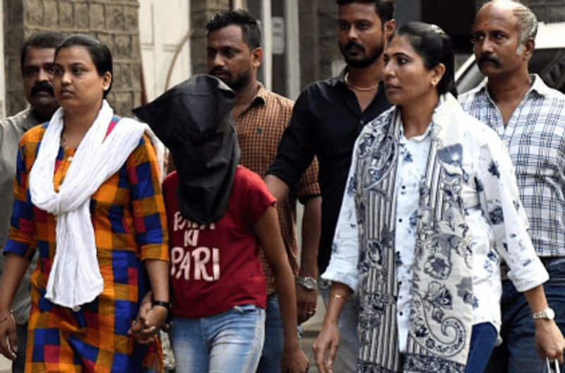 19 year old girl murder her adapt father  for sexual torture and also  affair with 16 year old boy