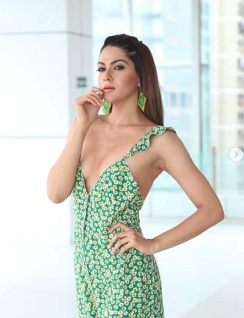 Iruttu  Movie heroine Sakshi Chaudhary Over Glamour Photo Shoot