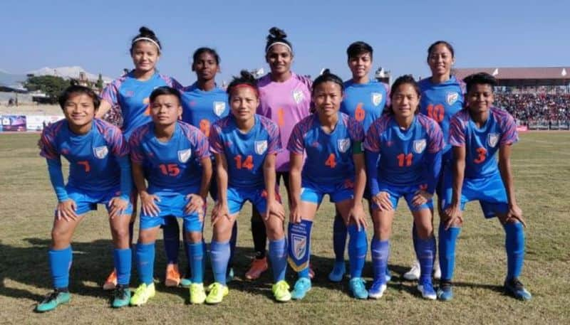 Indian women team wins gold medal in the South Asian Games
