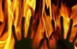 fire on young girl in bihar