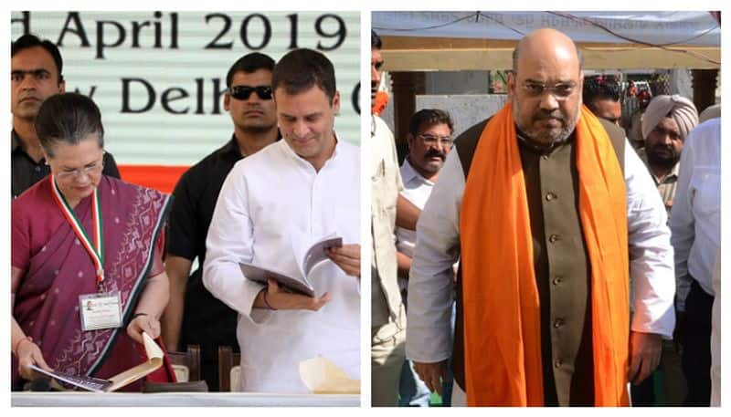 Amit Shah attacks Congress for its double standards in choosing allies
