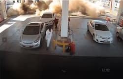saudi petrol station explosion