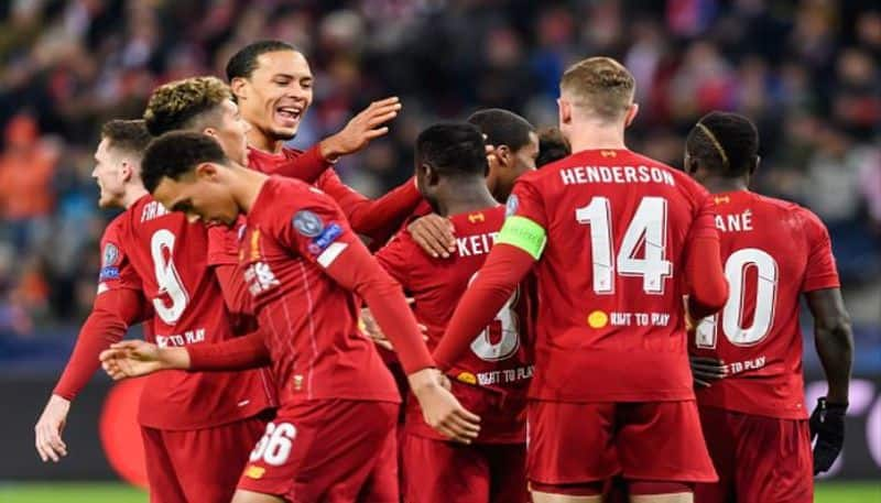 Liverpool beat Salzburg to confirm round of sixteen of UEFA champions League