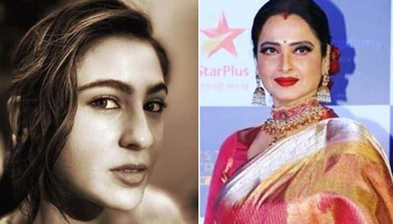 Sara Ali Khan compares herself to Rekha; here's what the actor wrote