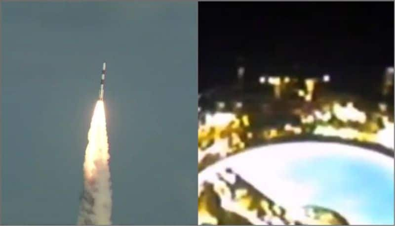 PSLV C48 rocket of ISRO succesfuly places RISAT-2BR1 and 9 customer satellites in orbit