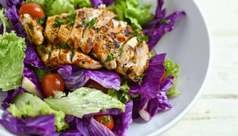 How to make cabbage grilled chicken Receipe at your home