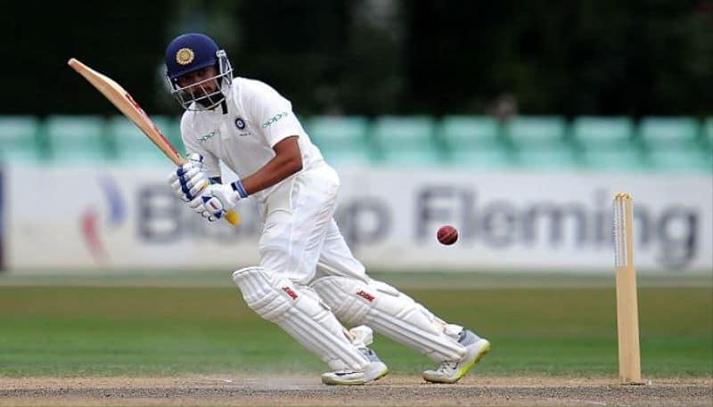 Prithvi Shah scores maiden double century in Ranji Trophy