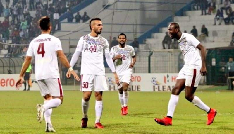 Mohun Bagan beat TRAU FC to register their first win in the I League