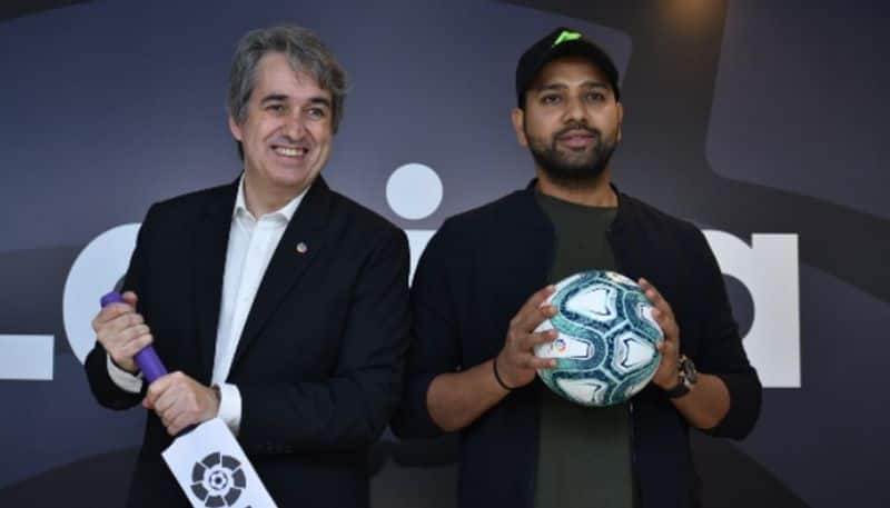 Rohit Sharma LaLiga first ever brand ambassador India