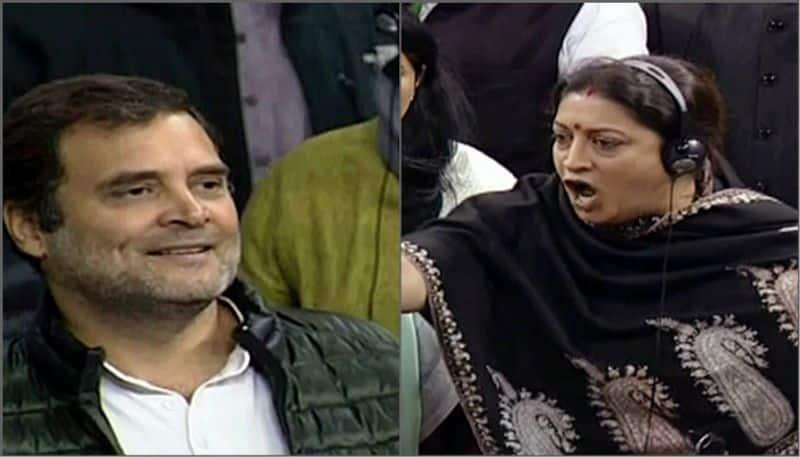 Smriti Irani slams Rahul Gandhi for rape in India remark, seeks apology