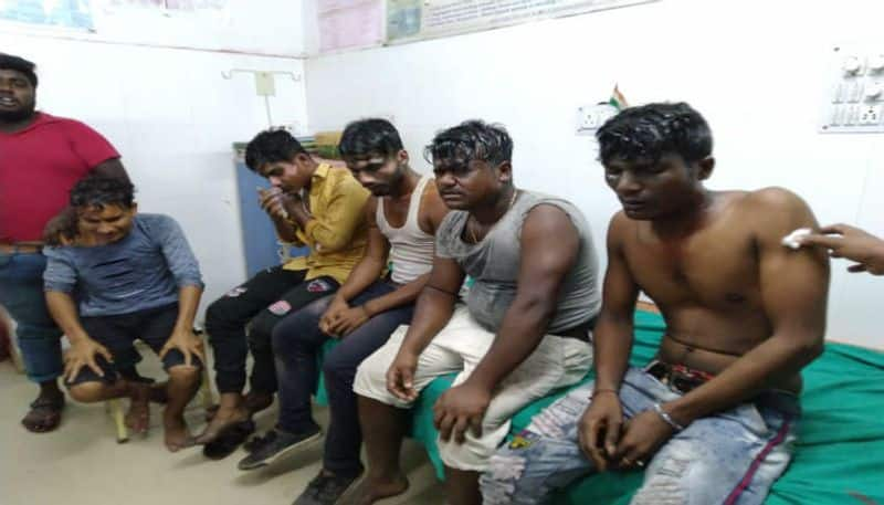 Six injured as hot oil was thrown at CAB protesters in Amdanga