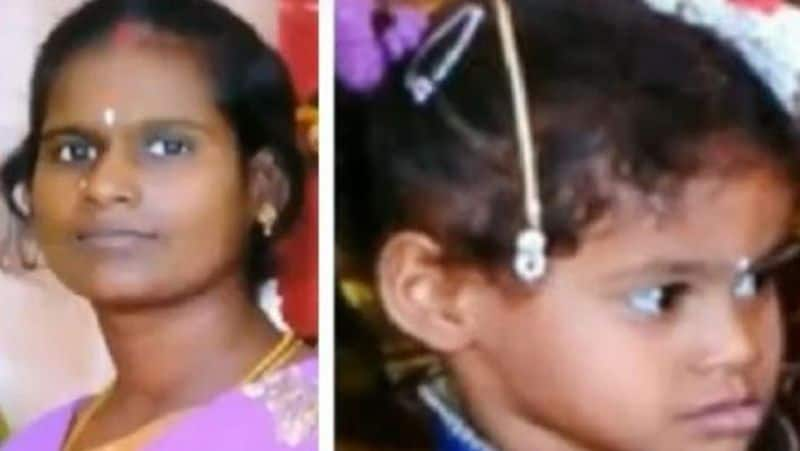 chennai bus accident...woman dead with her daughter