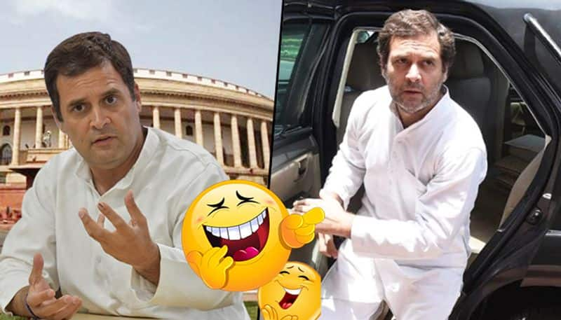 Rahul Gandhi leads CAB protests as he never has to hail one