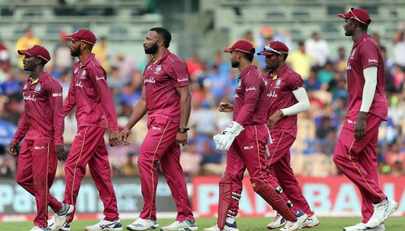 West Indies team fined eighty percent of their match fees for slow over rate