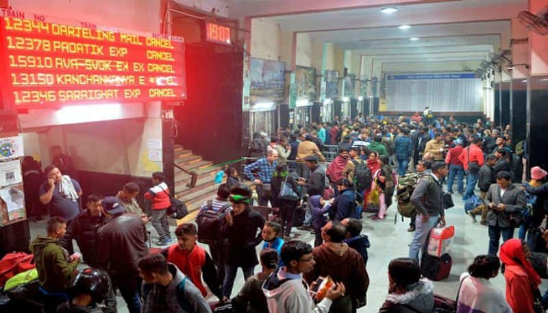 North Bengal bound trains remain cancelled on Tuesday also