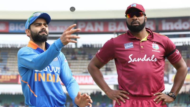 west indies win toss elected to bowl in second odi  and one change in indian team