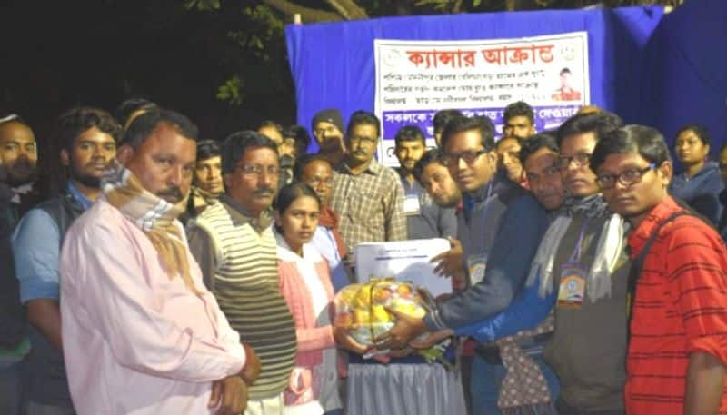 Student collects one lakh donation for cancer patient