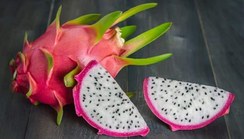 Dragon fruit has many health benefits