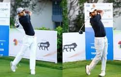 Trishul Chinnappa, Sudhir Sharma, Golf