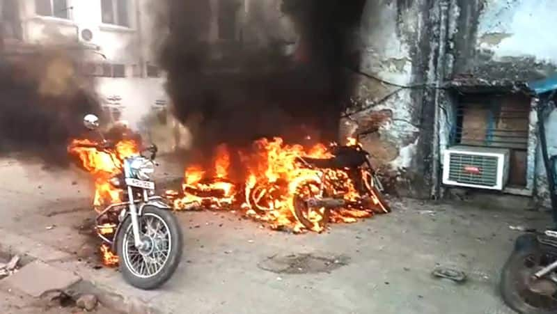violent protest against caa in lucknow and sambhal KPU