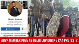 ABVP Member Pose As Delhi Cop During CAA Protest?