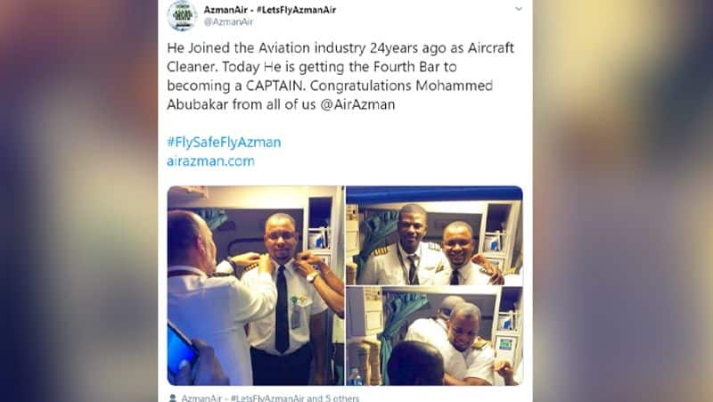 Cleaner becomes pilot after struggling for 24 years kph