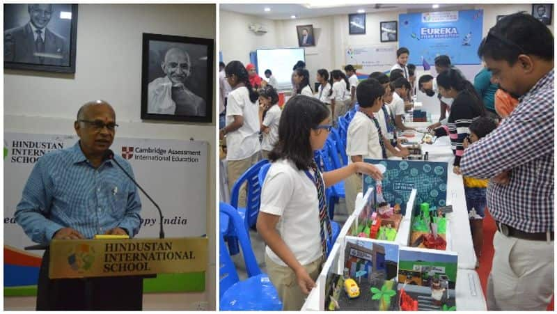 hindustan  school conducted Eureka STEAM Exhibition 2019 in guindy