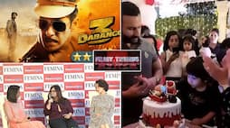 Filmy trends: From Dabangg 3's review to Taimur Ali Khan's birthday cute wishes