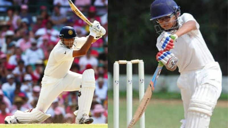 samit dravid scores double century in under 14 inter zonal match