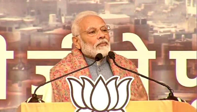 Modi slams Mamata on CAA and NRC protest issue