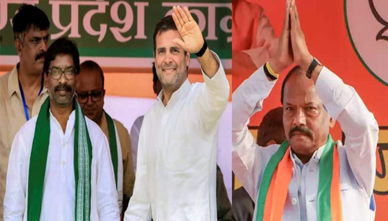 congress allaince leads in jharkhand