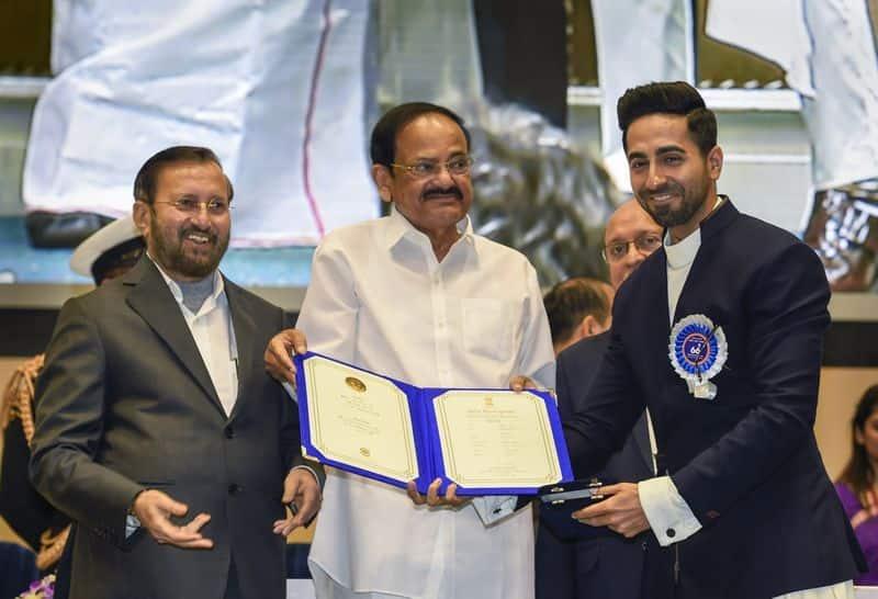 66th National Film Awards 2019: Ayushmann Khurrana thanks fans for 'Andhadhun' love