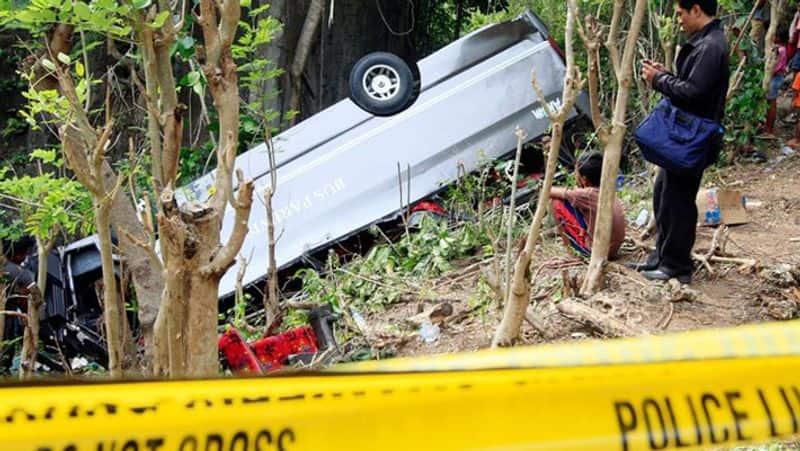 Indonesia bus crash... at least 24 people killed