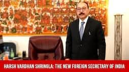 Harsh Vardhan Shringla The new foreign secretary of India