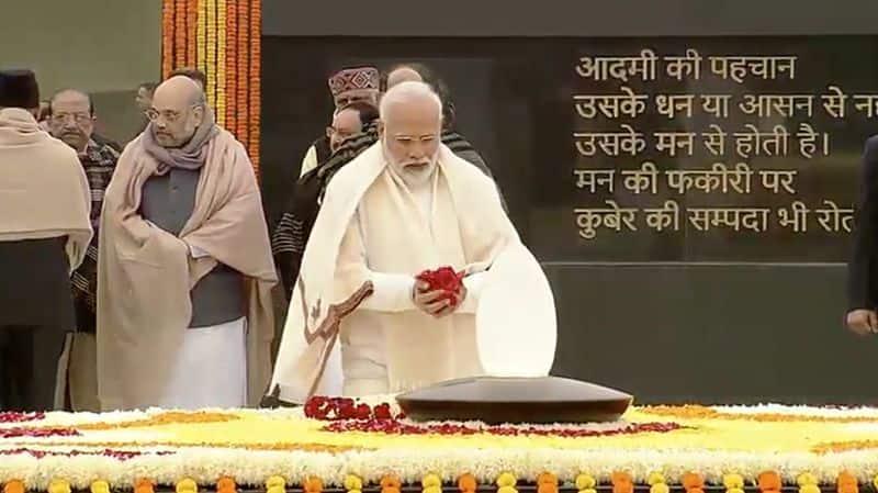 PM Modi, President pay tributes to Atal Bihari Vajpayee on his 95th birth anniversary