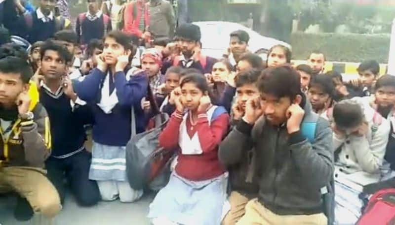 Students forge holiday notice, friends gather outside DM's office to say sorry in Noida