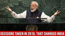 Decisions taken in 2019, that changed India