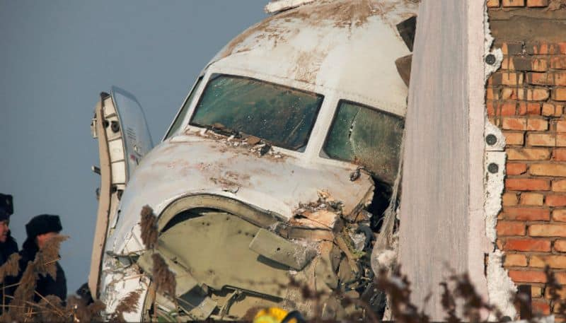 passenger plane with 100 people on board crashes in Kazakhstan, 15 died