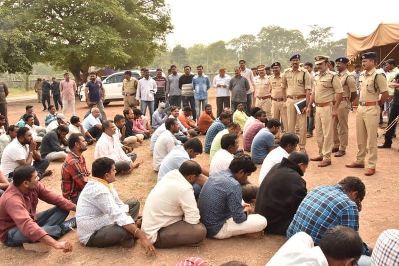 176 gamblers arrested in ramagundam