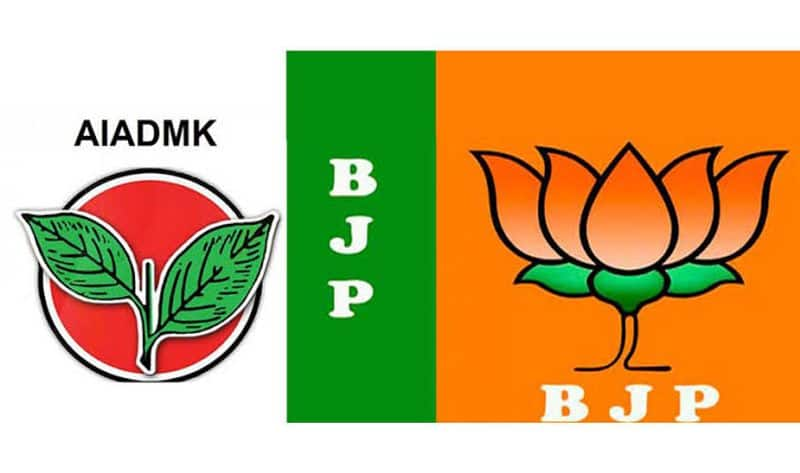 Two slaves to BJP .. AIADMK in Tamil Nadu .. NR Congress in Pondicherry .. Jyoti Mani torn and hung!