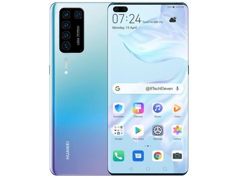 huawei may launch new smart phone with 5 cameras
