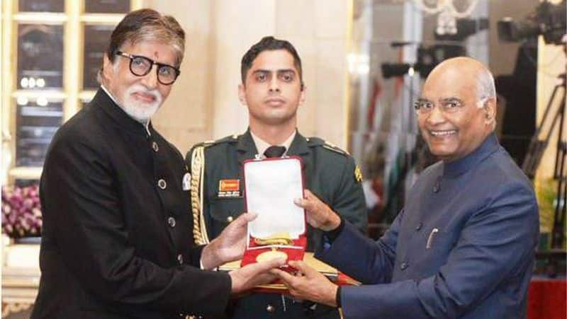 The legendary actor was conferred with the highest honour of the film industry for his tireless, outstanding contribution to the world of cinema on Sunday.