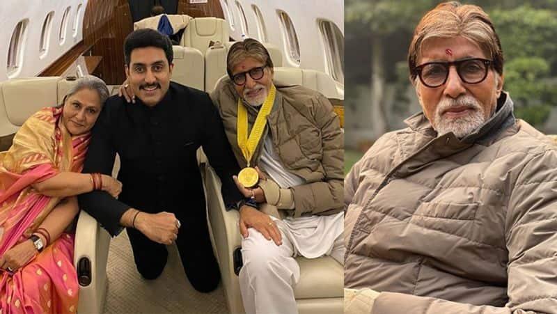 As the veteran actor Amitabh Bachchan was honoured with the prestigious Dadasaheb Phalke award, son Abhishek Bachchan is all praise. He posted a congratulatory message on social media.