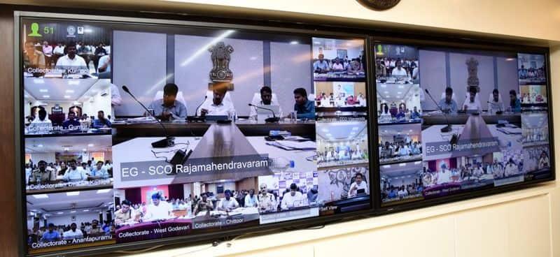 AP CM YS Jagan review meeting on spandana programme